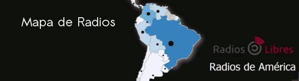 Mapa de Radios con Blog Radios de América